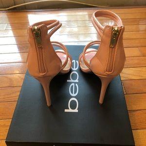 bebe Shoes - Bebe heels size 7.5 light pink